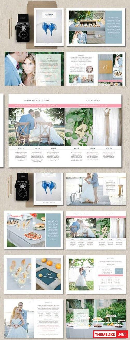 Creativemarket Wedding Photographer Magazine Guide 1238527