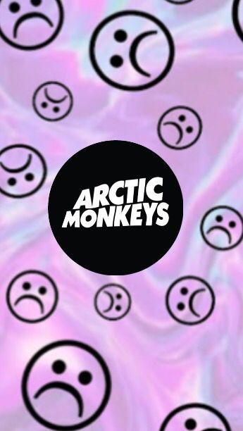 Arctic Monkeys Arcticmonkeys Am Sad Face Wallpaper Tumblr Grunge Hipster Purple Black Plano De Fundo