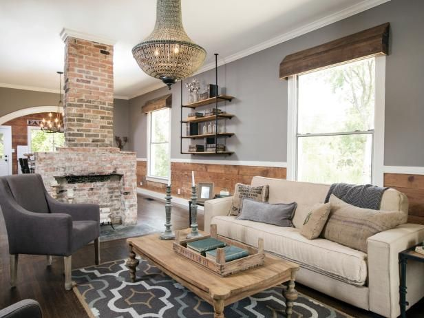 decorating with shiplap ideas from hgtv 39 s fixer upper ideas for the house pinterest haus. Black Bedroom Furniture Sets. Home Design Ideas