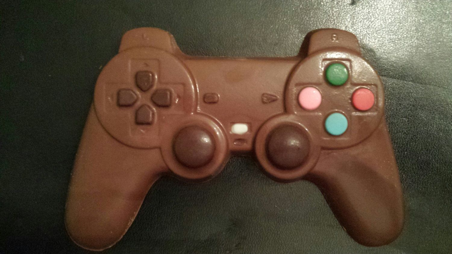 Chocolate PS3 Video Game Controller by DaisysChocolates on Etsy, $3.00