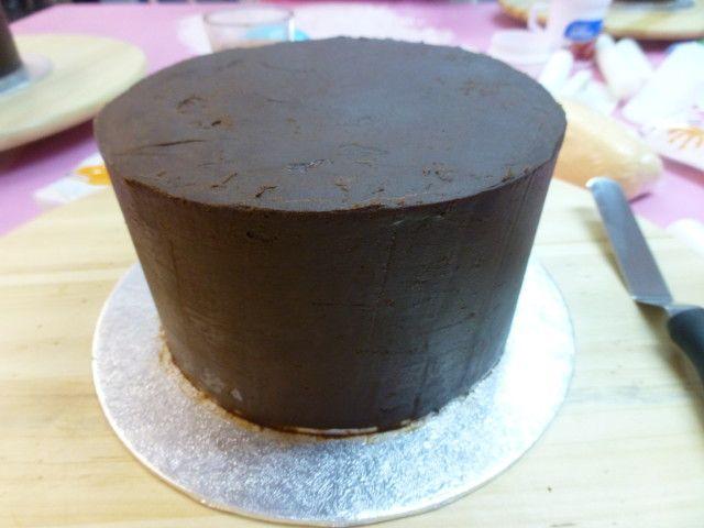 Tarta De Chocolate Para Cubrir De Fondant Receta De Milandebrera Receta Tarta De Chocolate Fondant Receta Recetas De Tarta De Chocolate