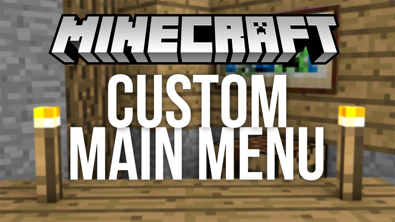 If You Need Extra Management Over The Principle Menu In Minecraft