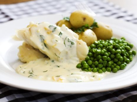Fish with eggsauce (easy and yummy)