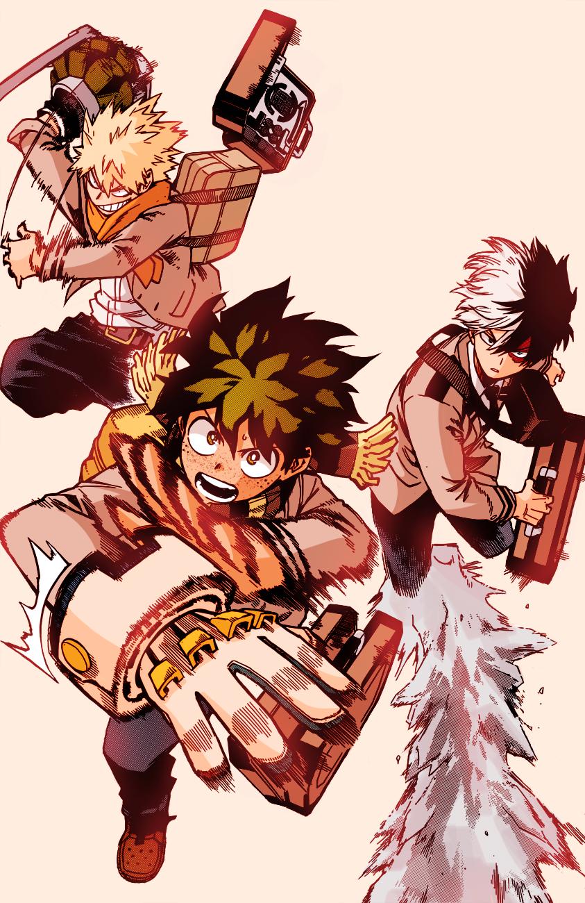 Boys My Hero Hero Wallpaper My Hero Academia Manga