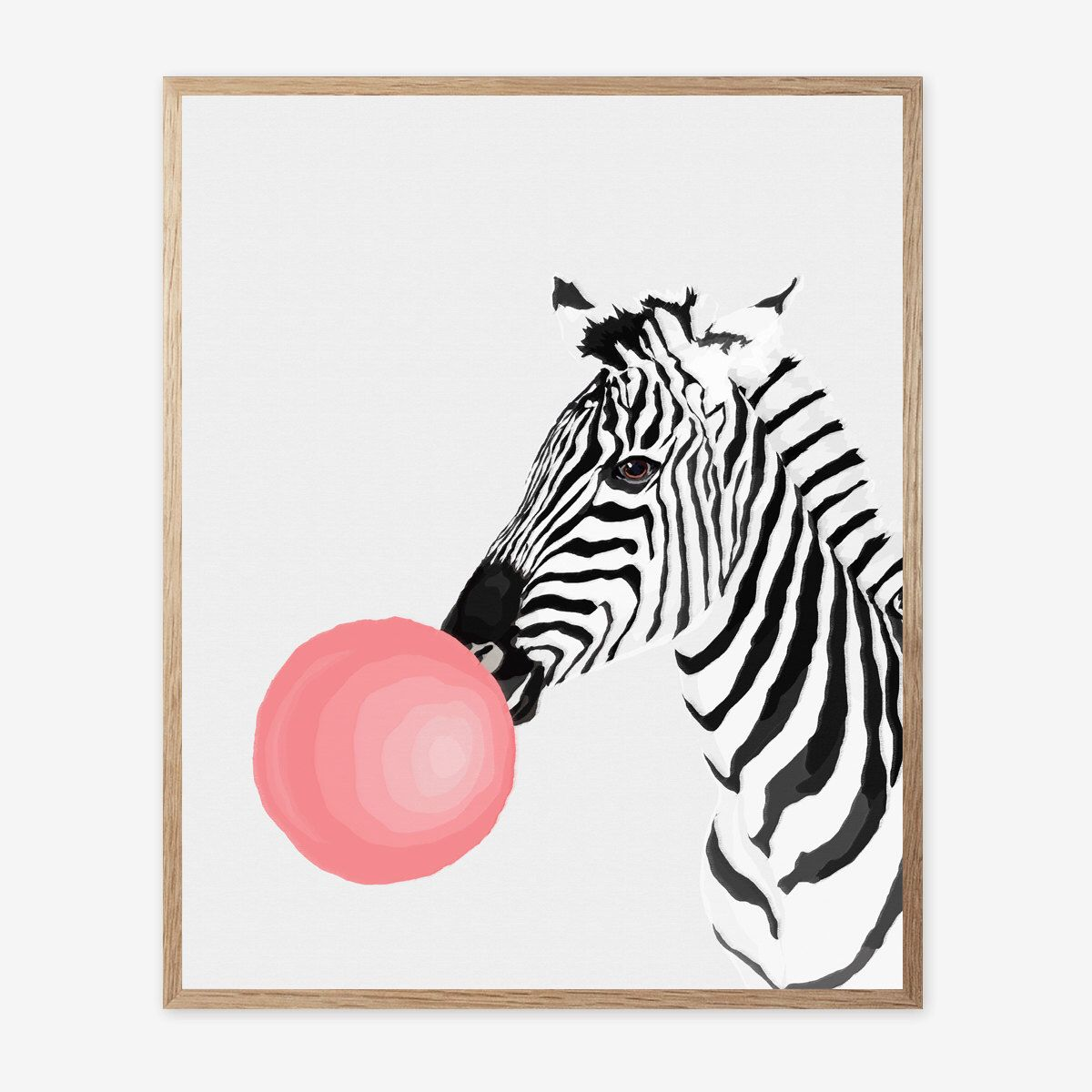 zebra print zebra decor nursery animal wall art kids room
