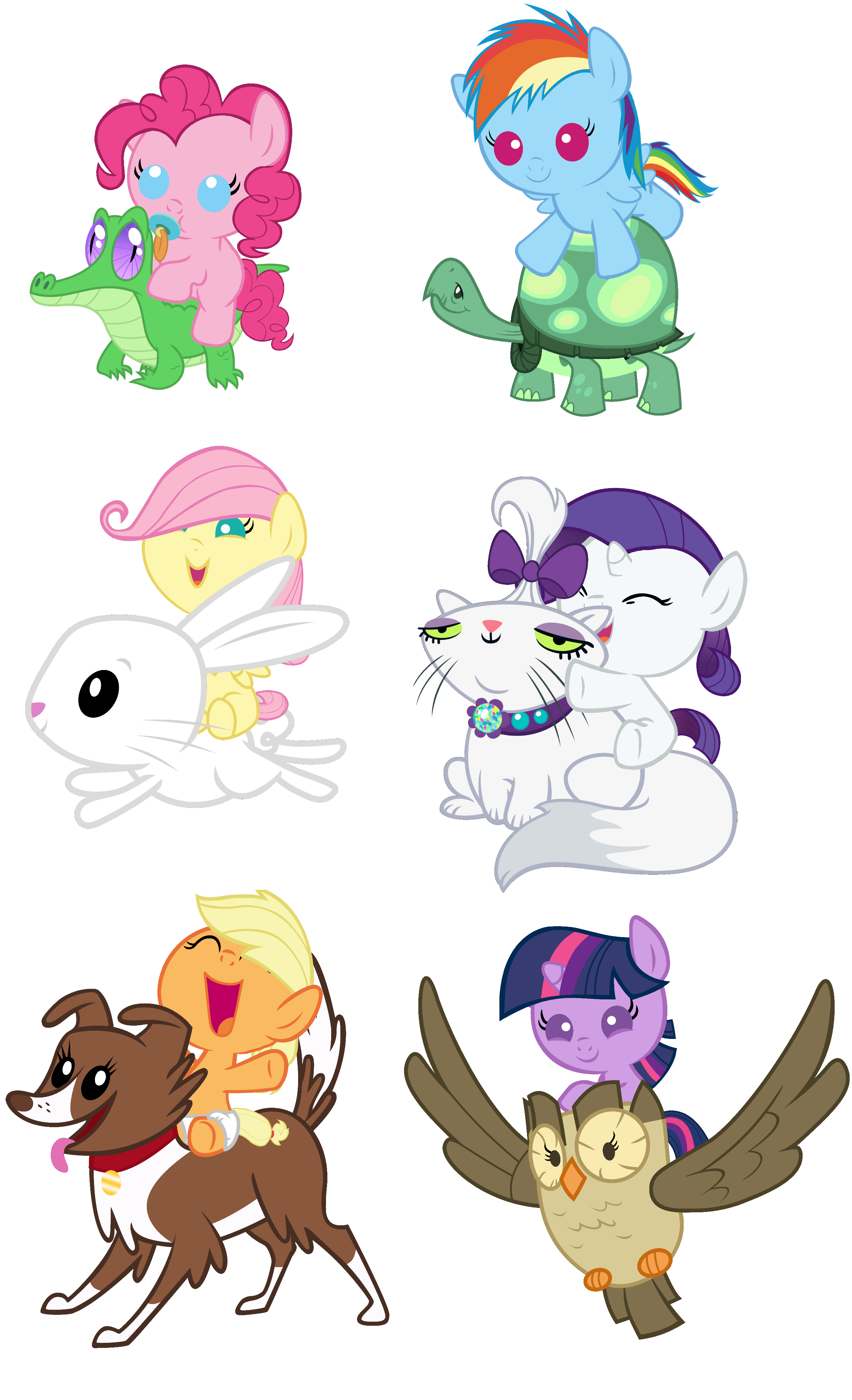 Ponies Riding Pets By Red4567 My Little Pony Friendship Is Magic My Little Pony Baby My Little Pony Twilight Mlp My Little Pony