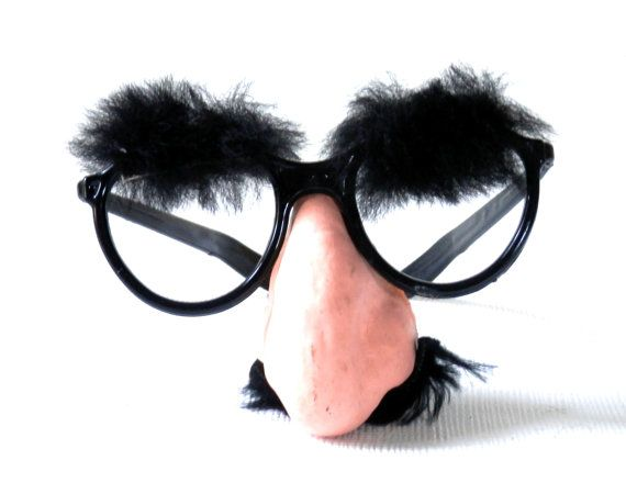 Lot Of 3 Groucho Marx Glasses Halloween Costume With Fake Etsy Fake Mustaches Vintage Halloween Costume Glasses