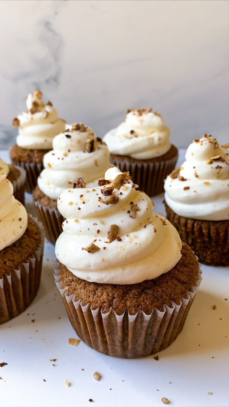 Flourless carrot cake cupcakes the dish on healthy in