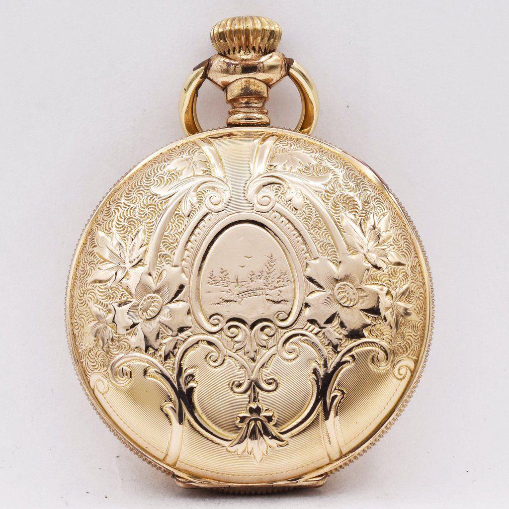 720430751 NEW YORK STANDARD POCKET WATCH Pocket Watches - Ashton-Blakey Vintage  Watches
