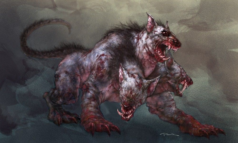 greek mythology monsters