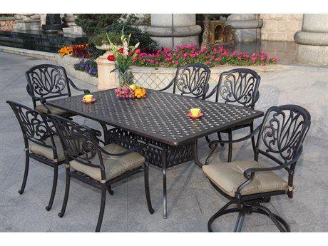 22+ Darlee elisabeth 9 piece cast aluminum patio dining set Best Seller