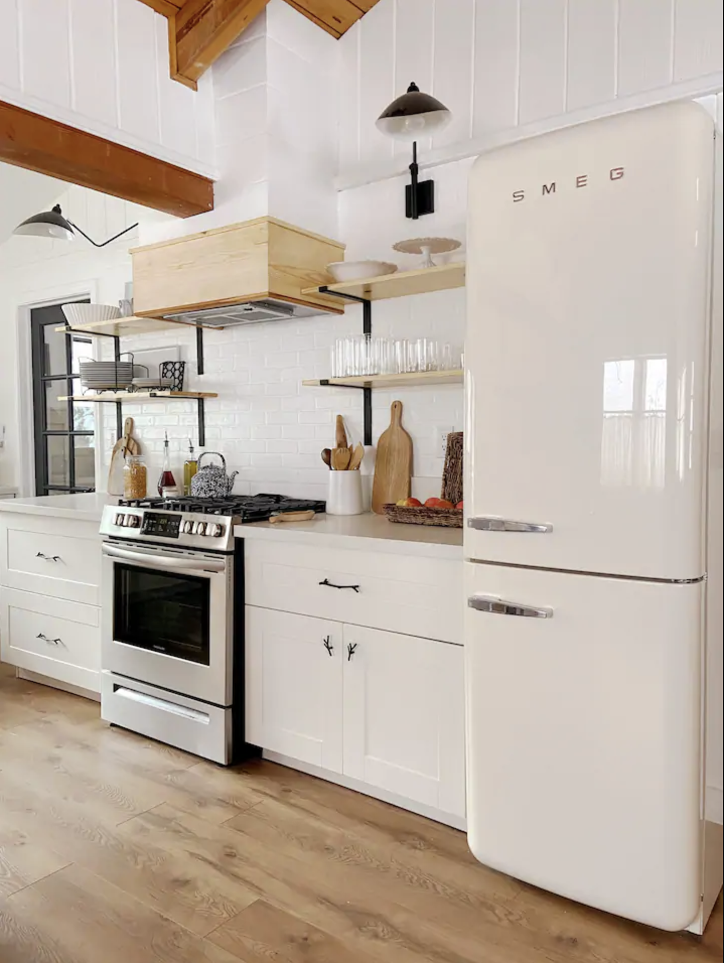 The Cottage On Catalina Kitchen Reveal Part 2 In 2020 Kitchen Design Small Small Cottage Kitchen Kitchen Design