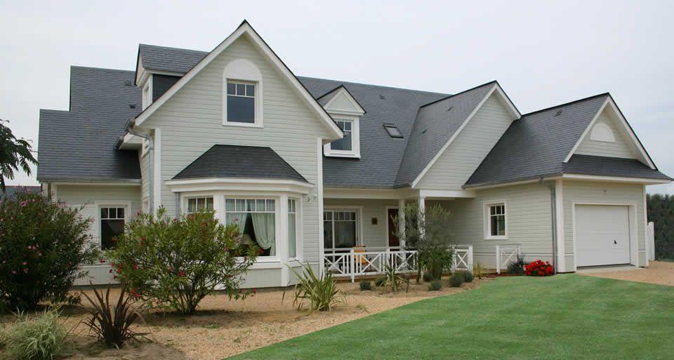 Maisons bois d 39 exceptions maisons bois pierre associ s - Maison en bois americaine ...