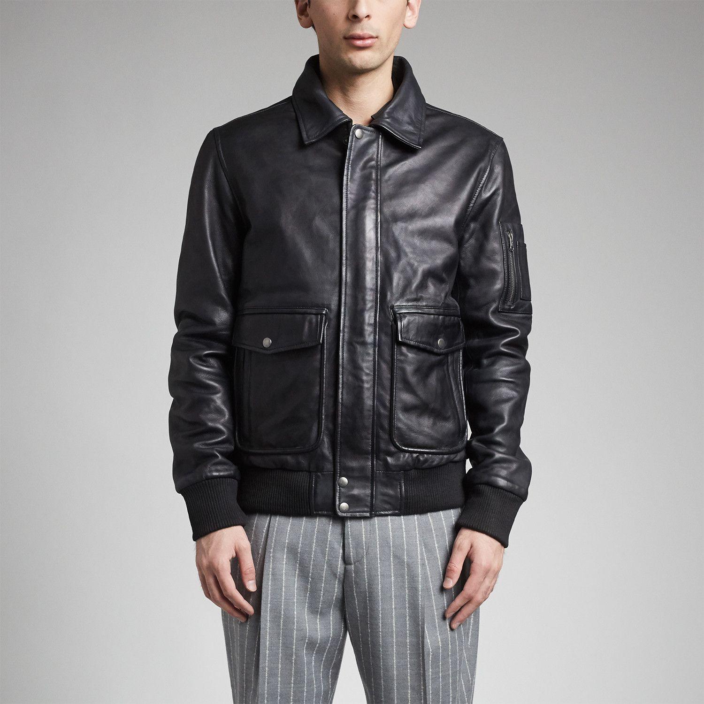 Icarus Flight Jacket // Black Flight jacket, Jackets