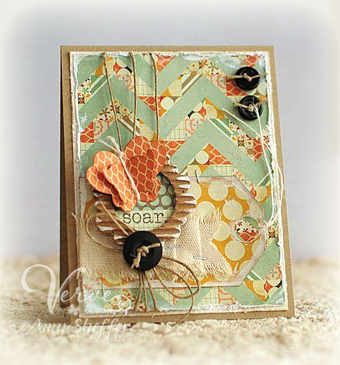 pickled paper designs soar  viva la verve  cards