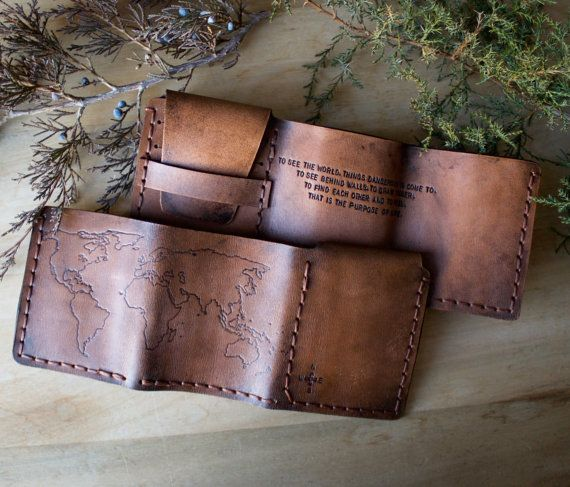Home of the original walter mitty life motto world map leather home of the original walter mitty life motto world map leather wallet compass rose gumiabroncs Images