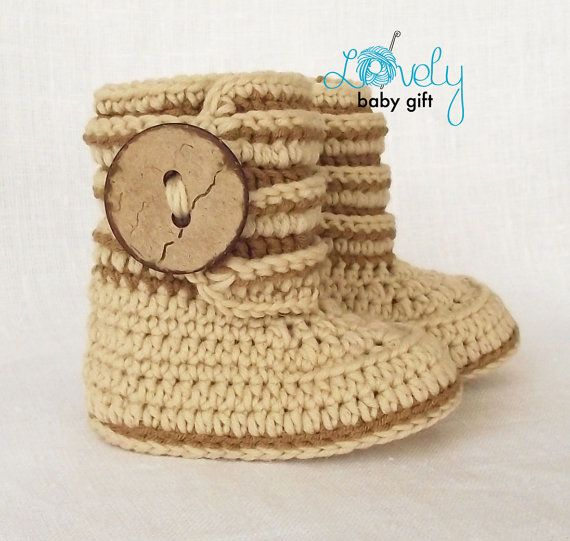 Crochet Baby Boots Pattern Crochet Boot Pattern Baby Boots | conejin ...