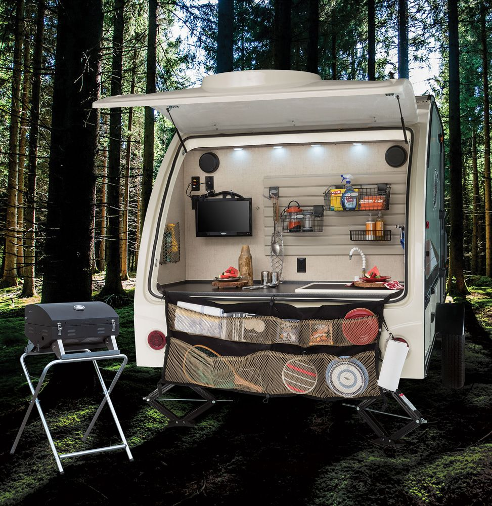 "Travel Trailers With Outdoor Kitchens: R-pod West Coast Travel Trailers By Forest River RV ""Rear"