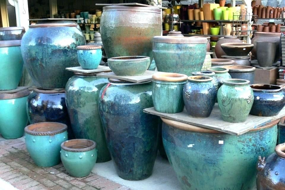 Garden Pots Planters Large Clay