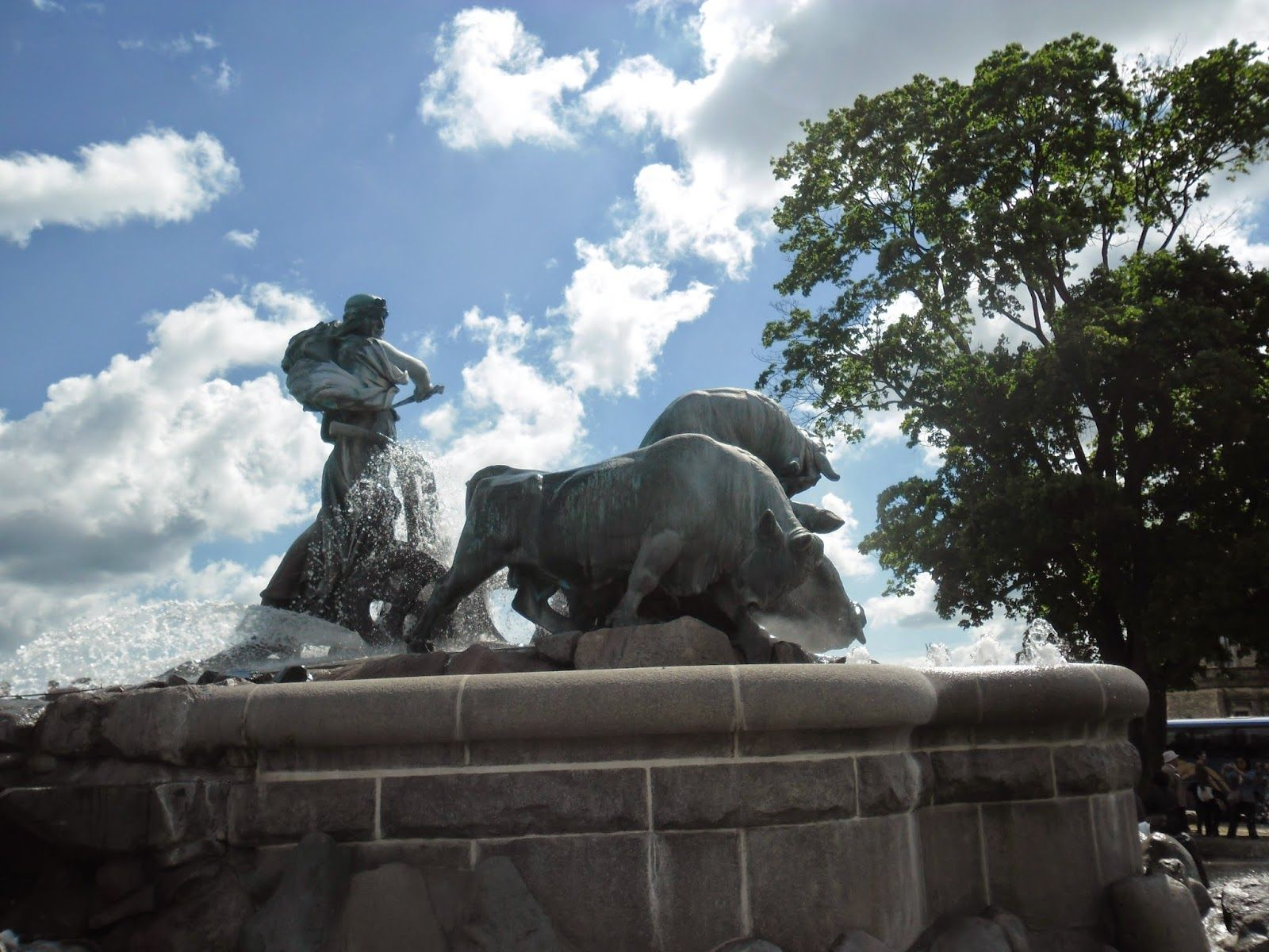 Gefion Fountain, Danmark