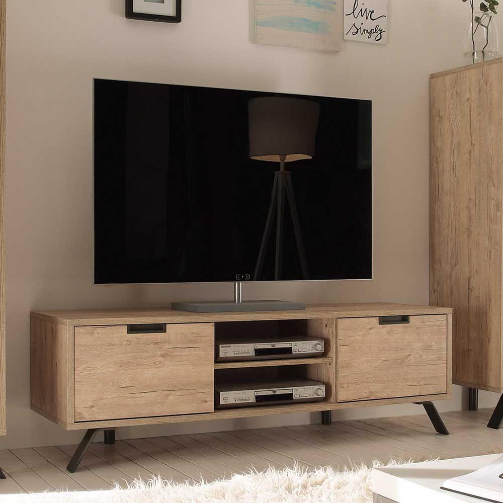 Fancy TV Board im Retro Design Eiche Jetzt bestellen unter https moebel