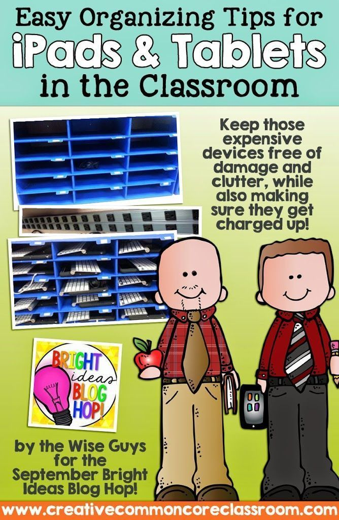 Easy Organizing Tips for iPads in the Classroom