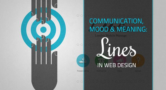 Communication Mood And Meaning Lines In Web Design Web Design Design Meant To Be