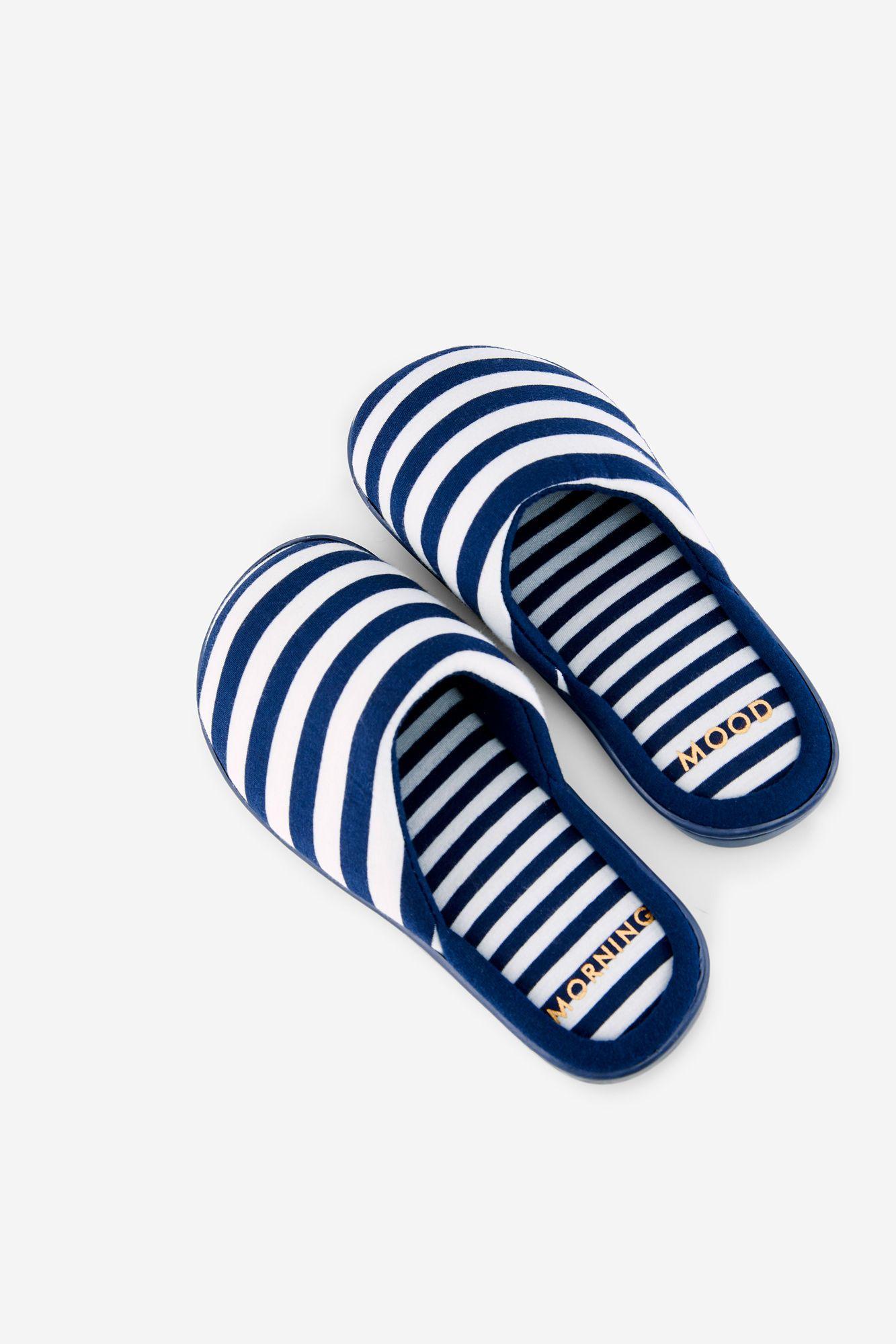 ropa deportiva de alto rendimiento vendible online aquí Womensecret Zapatillas rayas de Miffy azul   Pijamas ...