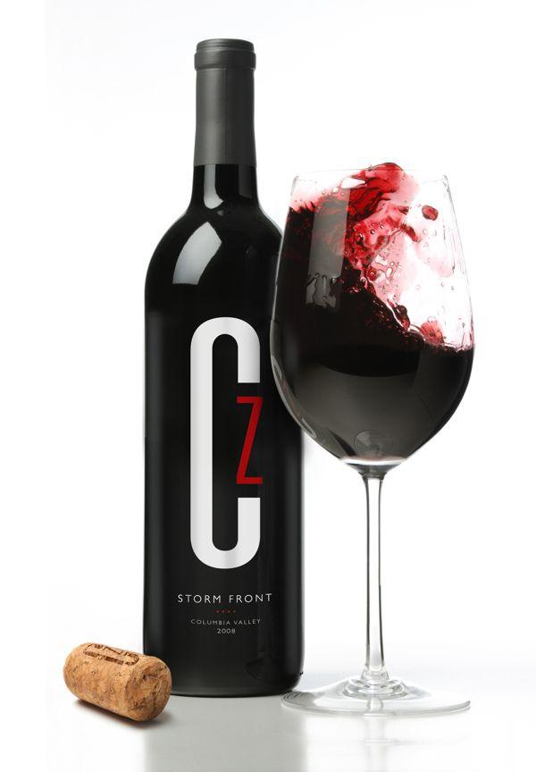 Convergence Zone Cellars By Joe Pilcavage Via Behance Wine