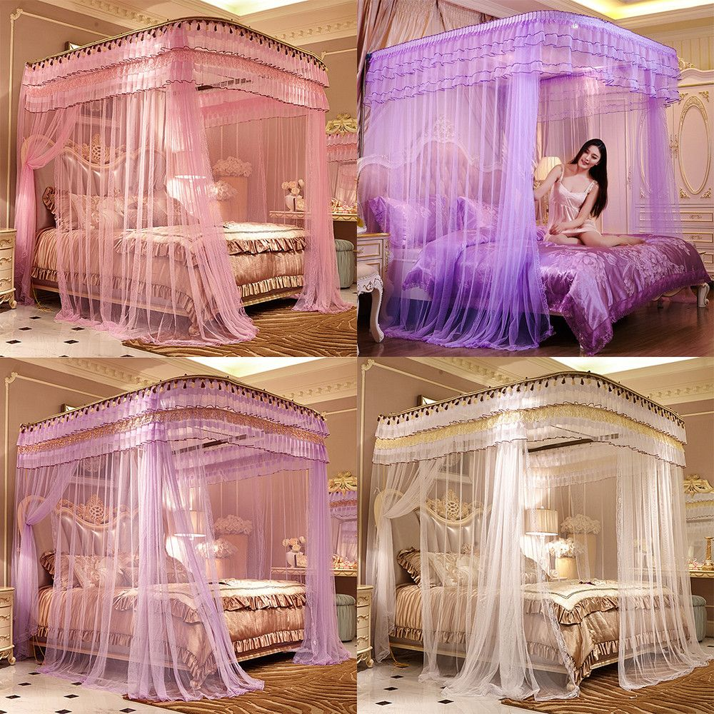 Hot Olympic Romantic Mosquito Net for Bed Canopy Bed Curtain China Lace Stainless Steel Tube Rail & Hot Olympic Romantic Mosquito Net for Bed Canopy Bed Curtain China ...