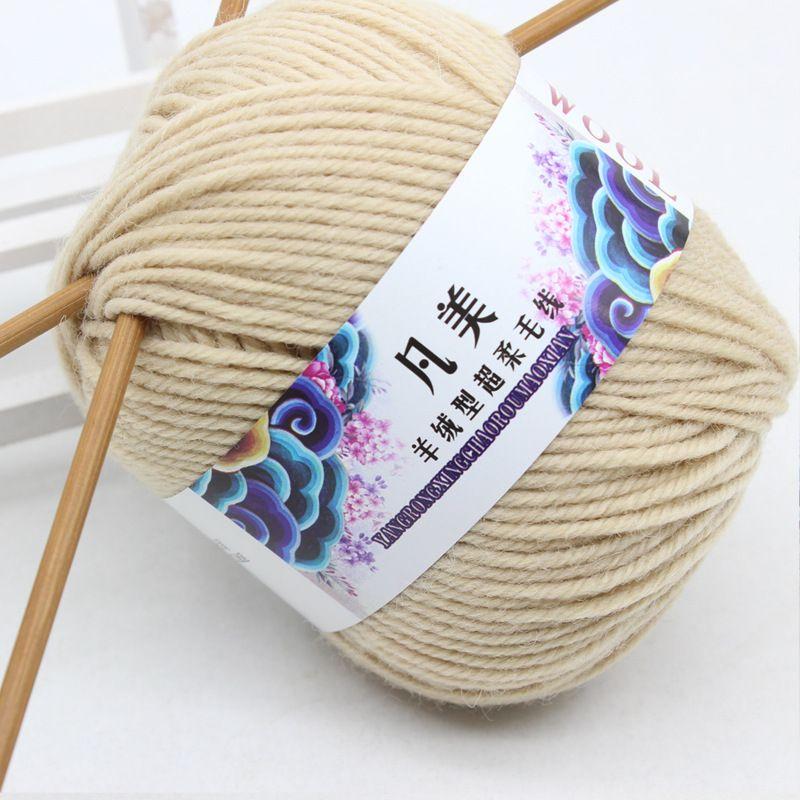 Pas Cher Laine épaisse Crochet Fil Pour Tricot à La Main