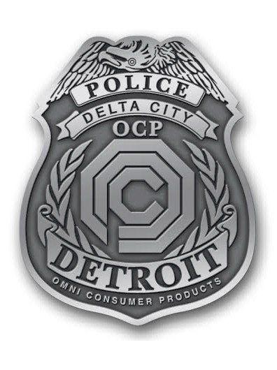 Delta City Police Ocp Lapel Pin Lapel Lapel Pins Police