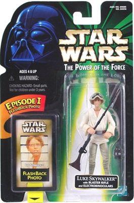 Star Wars Power of the Force POTF Flash Back Luke Skywalker Electrobinoculars