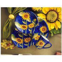 Corelle Sunsations Pattern Tableware Gibson Sunflower