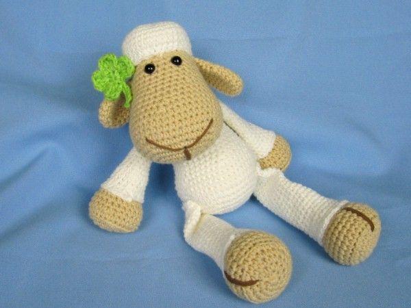 Schaf Lucy Häkelanleitung | Häkeln crochet | Pinterest | Schäfchen ...
