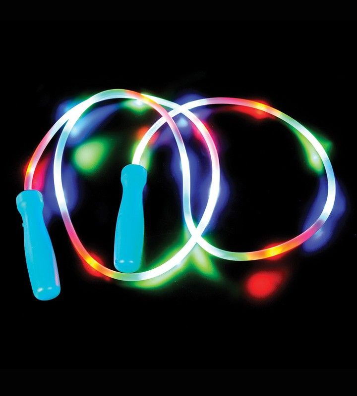 Light Up Jump Rope Led Flashing Lightup Jump Rope  Magic  Pinterest  Glow Necklaces