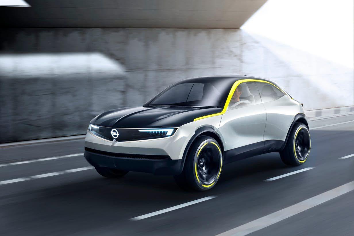 Opel S Gt X Experimental Concept Envisages A Visual Detox For