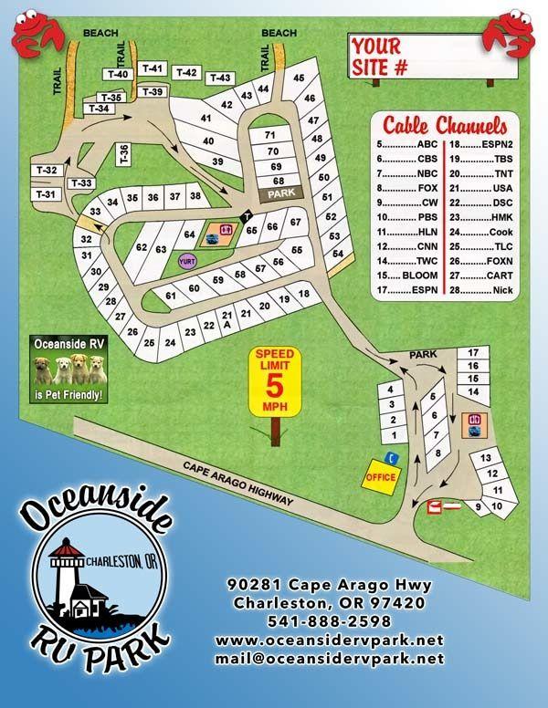 Oceanside Rv Park Charleston Oregon 541 888 2598 Cable