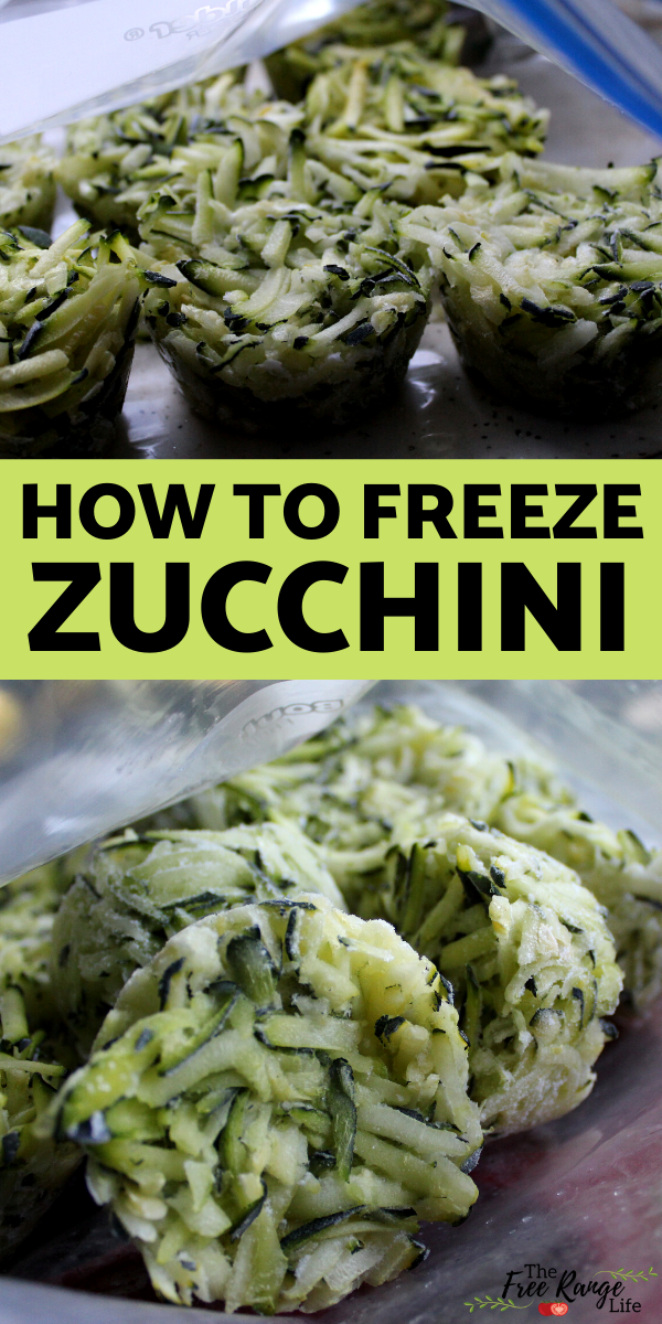 how to freeze zucchini  real food recipes easy healthy