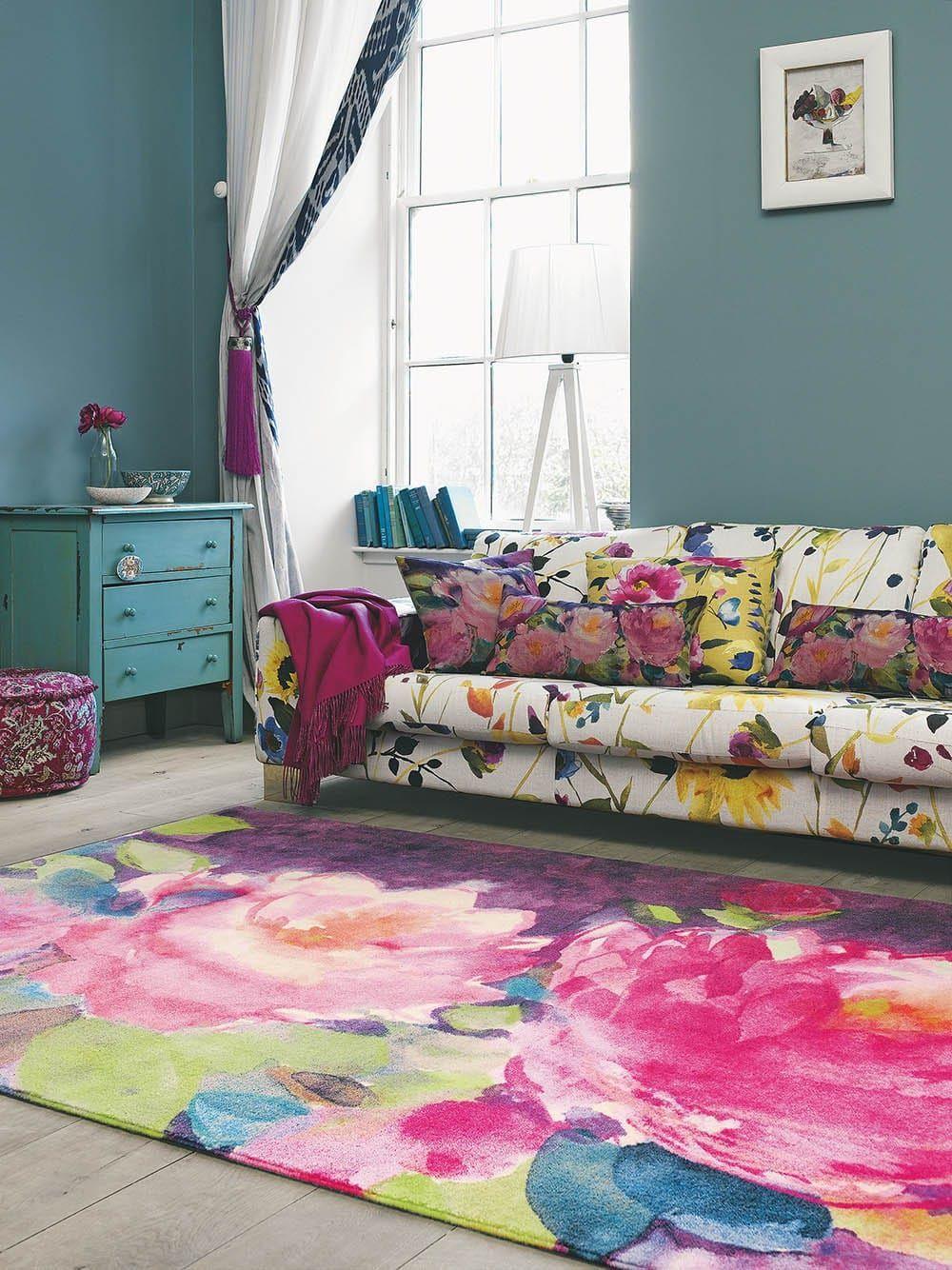 Bluebellgray | Bluebellgray Teppich | Bluebellgray Cait | Bluebellgray  Kissen | Bluebellgray Vorhang | Teppich Bunt