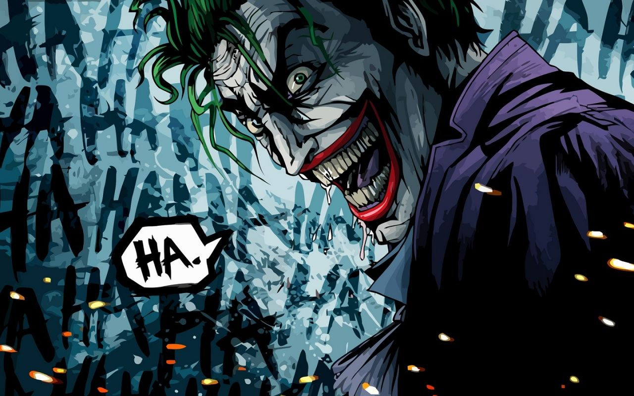 Hahaha Joker Joker Hd Wallpaper Joker Wallpapers Joker Artwork