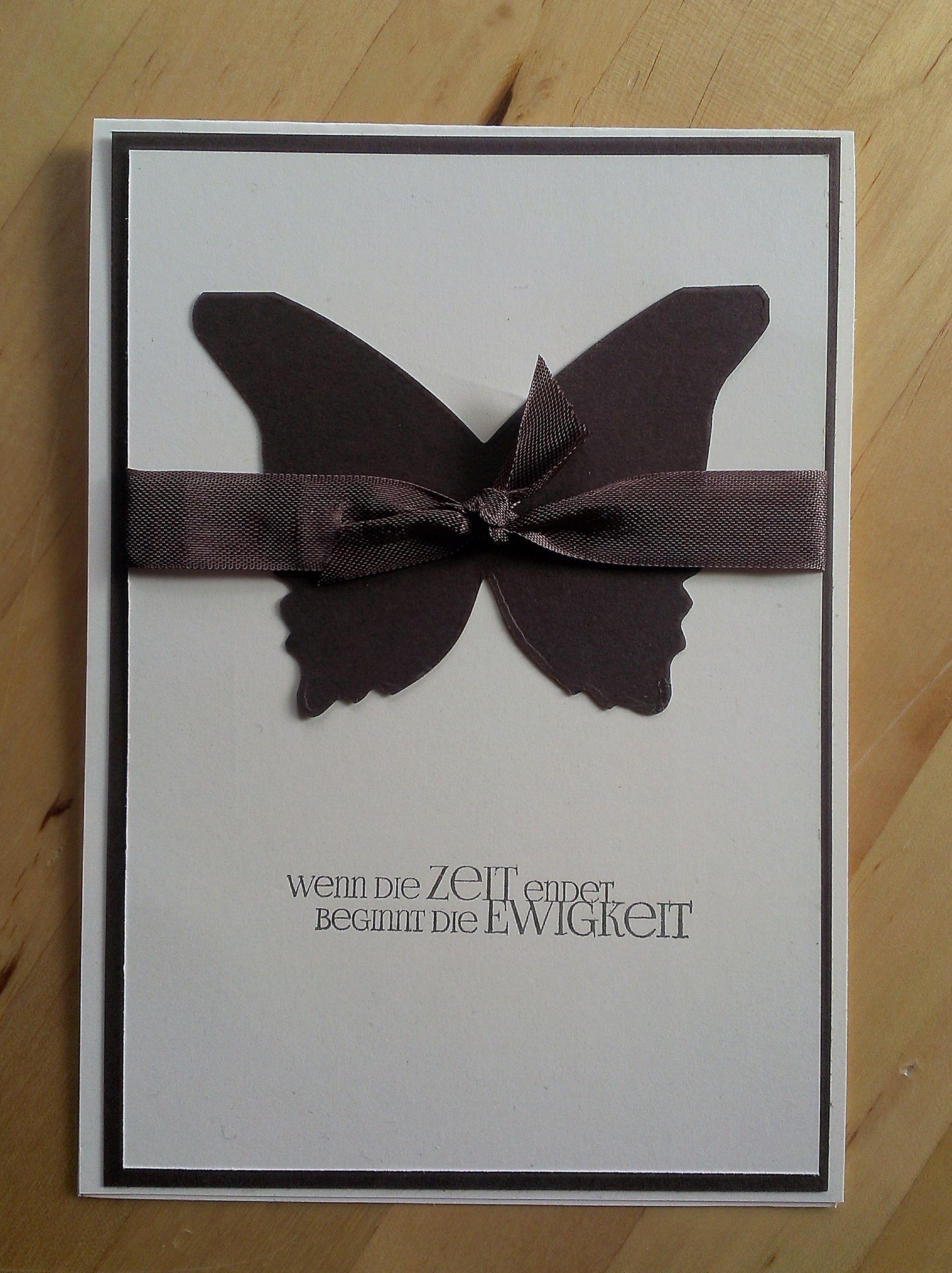 Beileidswunsche Fur Karten: Wenn Die Zeit Endet…Trauerkarten