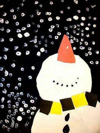 Discover Ideas About Winter Art Kindergarten