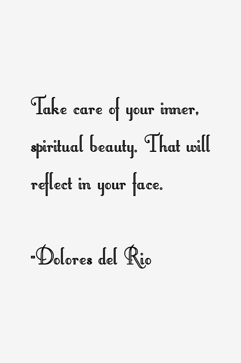 Take Care Of Your Inner Spiritual Beauty That Will Reflect In Your