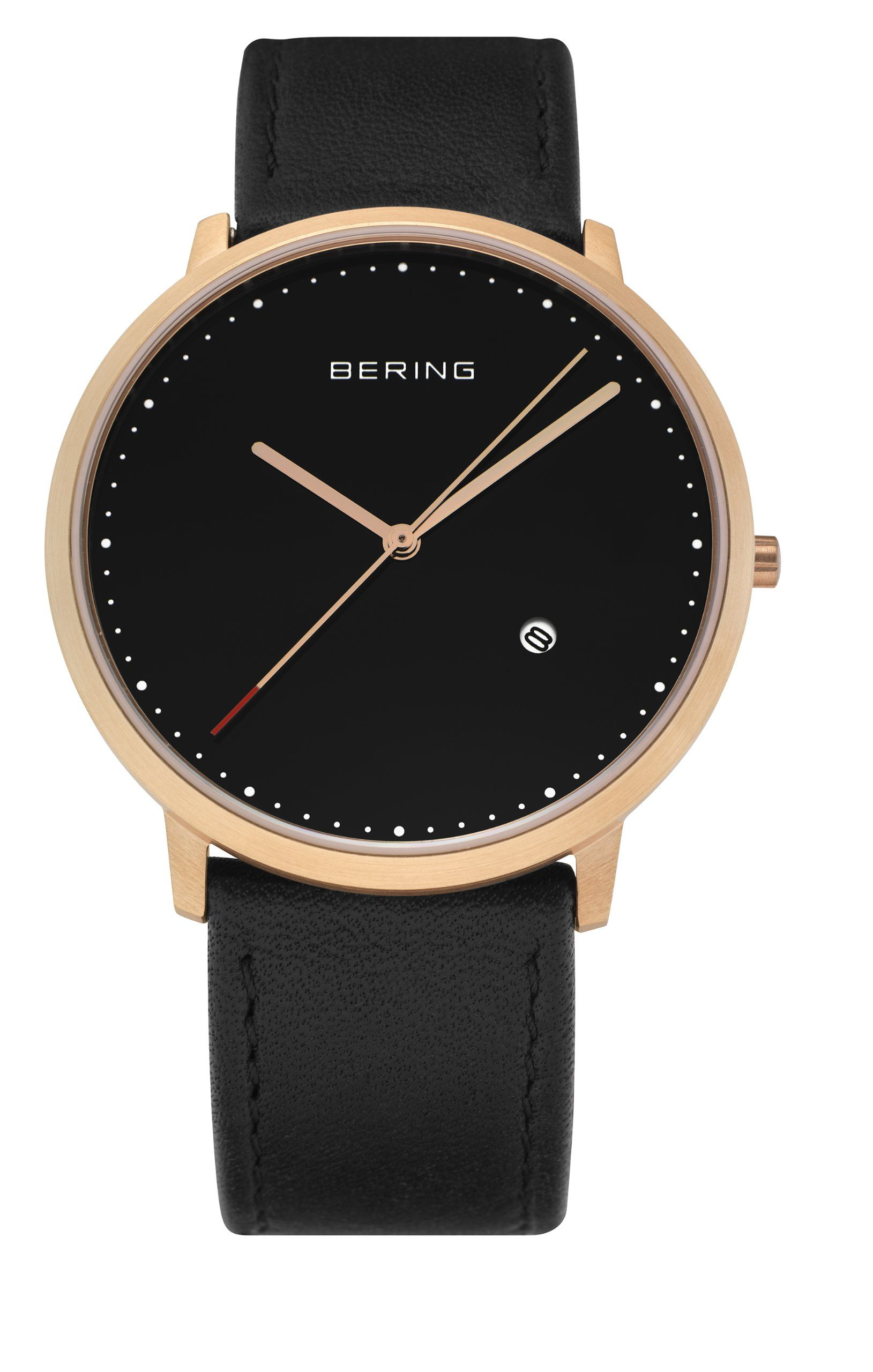 Moderne armbanduhr herren  BERING Time Herren-Armbanduhr Slim Classic 11139-462: Amazon.de ...