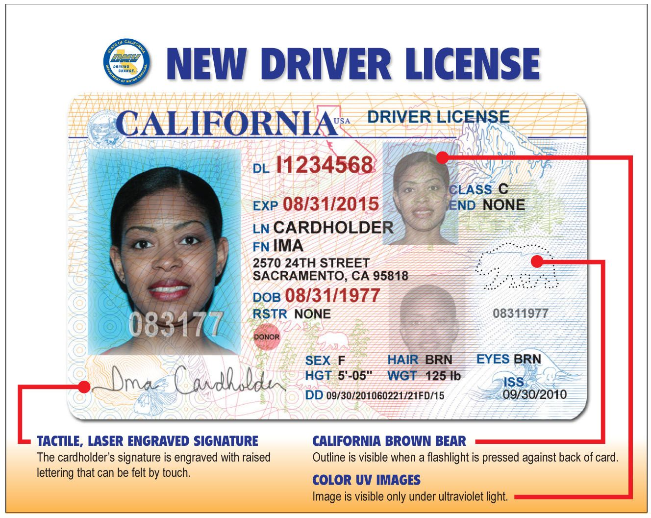 The updated california drivers license will be used to reveal explore birth certificate drivers license and more aiddatafo Images