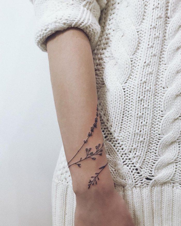 Wir haben 90 Tattoo-Ideen f r M dchen zusammengestellt   compiled girls ideas mo… #bodyart #body art #body art tattoos #body art tattoos female #bod…