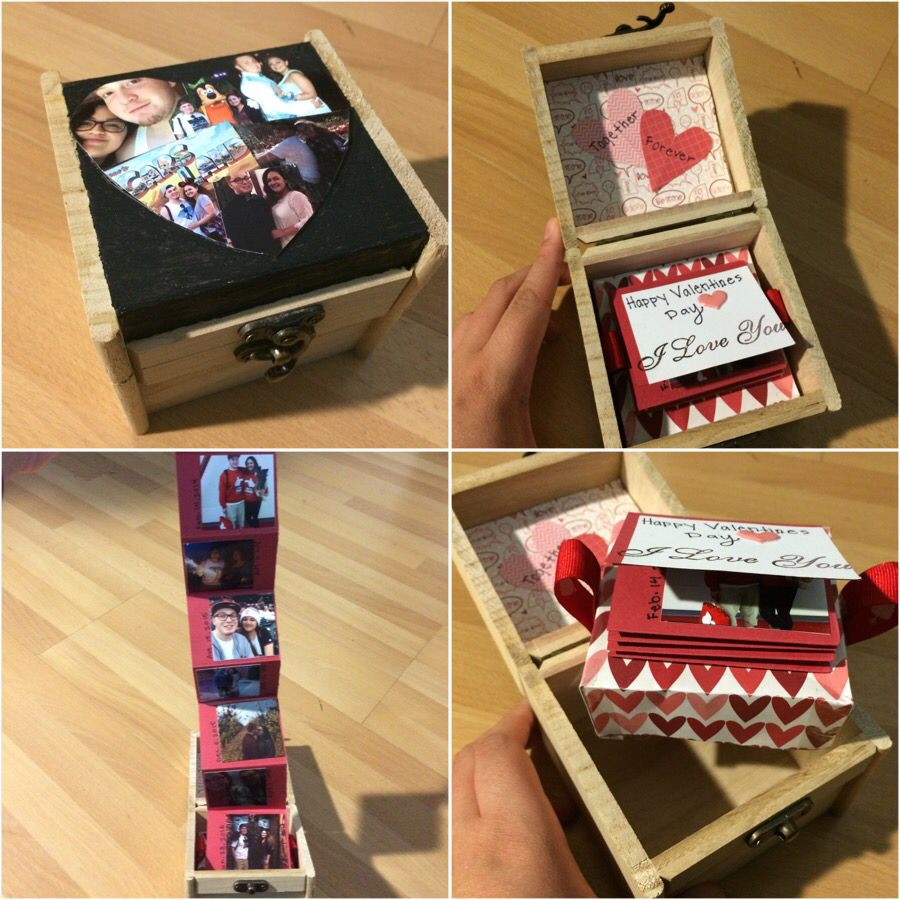 By vanessa luevano secret box i made for my boyfriend