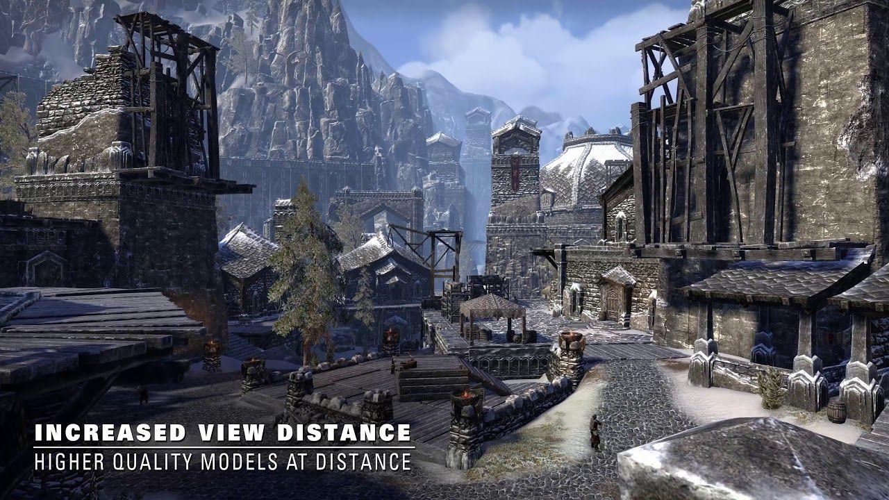 The Elder Scrolls Online - Xbox One vs Xbox One X 4K