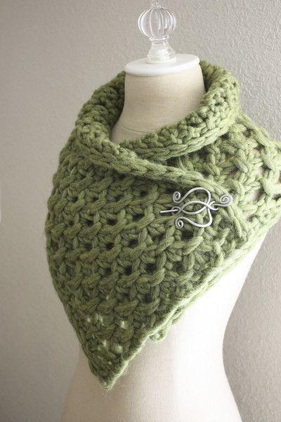 Lattice Cowl / Scarf Knitting Pattern | Tejido, Cuellos tejidos y ...